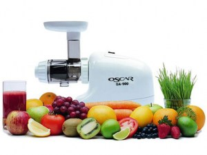 Oscar DA 900 Juicer - white
