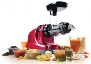 Oscar DA 1000 Juicer - Chrome
